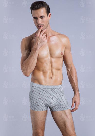 男士竹丽尔抗菌内裤