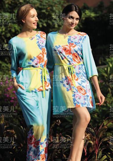 蝶恋花人棉系列裙装家居服