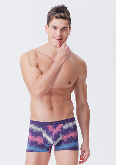 运动莫代尔平角男裤